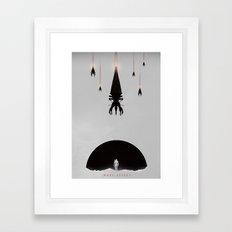Mass Effect - Minimalist Poster  Framed Art Print
