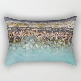 Bora Bora Algae Rectangular Pillow