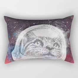 Space_Cat Rectangular Pillow
