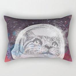 Space_Cat Rectangular Pillow