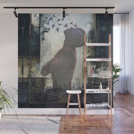 The dream of freedom Wall Mural