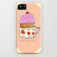 Teacupcake! Slim Case iPhone (5, 5s)