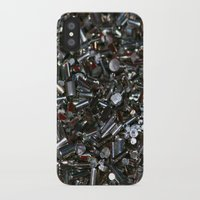 the wire iPhone & iPod Cases featuring Wire Bits by Lyssia Merrifield