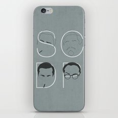 Sterling Cooper Draper Pryce iPhone & iPod Skin