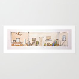 A home for babe Art Print