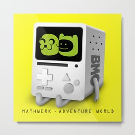 Mathwerk - Adventure World Metal Print