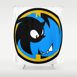 The Wrath of Nazo Emblem Shower Curtain
