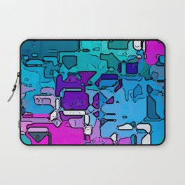 Abstract Segmented 1 Laptop Sleeve