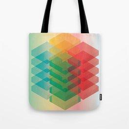Color Cubes Tote Bag