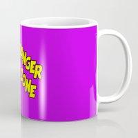 lichtenstein Mugs featuring Archer Lichtenstein by tmwt