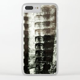 Palimpsest 7/8 - Piotr Tomalka Clear iPhone Case