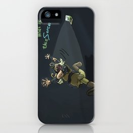 #‎Vikings‬ for ‪the #‎CDChallenge‬. What is this sorcery!? iPhone Case