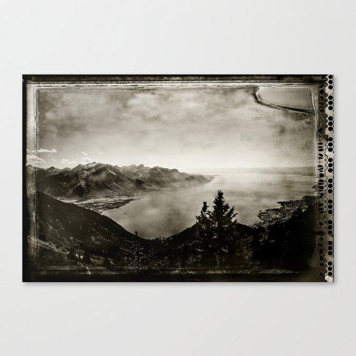 Vintage Switzerland Canvas Print