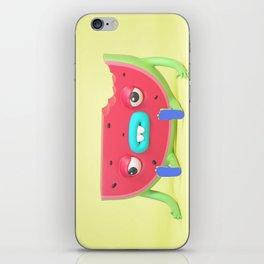 Watermelon dude iPhone Skin