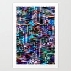 Mixed Woven Art Print