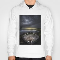 rowing Hoodies featuring I beg you by HappyMelvin