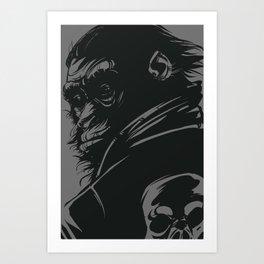MNKY Art Print