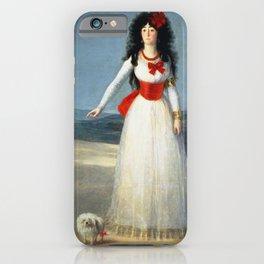 Francisco De Goya - The Duchess Of Alba iPhone Case
