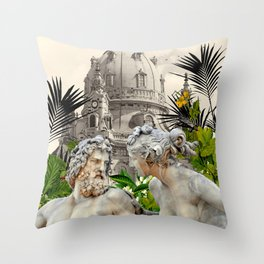 LOVE WITHOUT BARRIERS  Throw Pillow