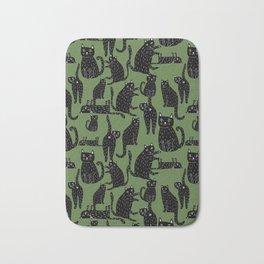 Kitty print Bath Mat