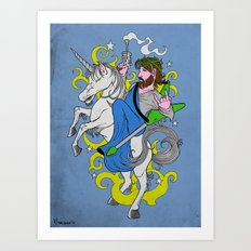 Sweet Jesus Art Print