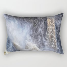 The magnificent Barron Falls Rectangular Pillow