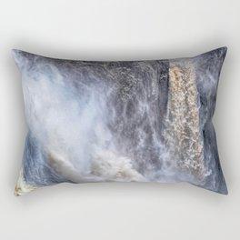 The magnificent Barron Falls Rectangular Pillow
