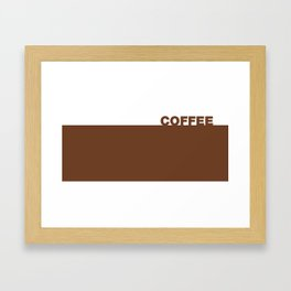 Mug Coffee Framed Art Print