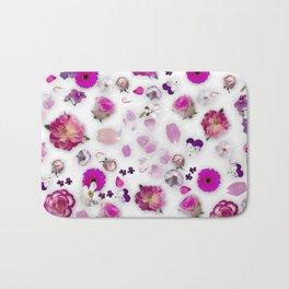 Flower potpourri Bath Mat