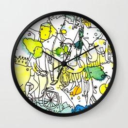 Character Cohesion Wall Clock