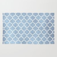 morocco Area & Throw Rugs featuring MOROCCO - SLATE by pike design