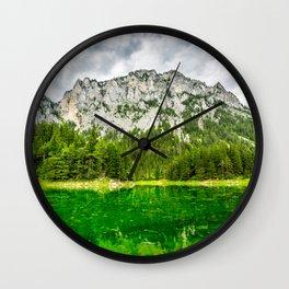 Shaded In Wall Clock