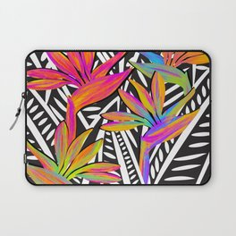 Taro Patch Design Bird of Paradise and Leaves Laptop Sleeve