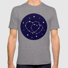 Star Lovers Tri-Grey Mens Fitted Tee X-LARGE