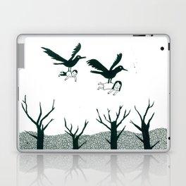 Ravens Carry You Away Laptop & iPad Skin