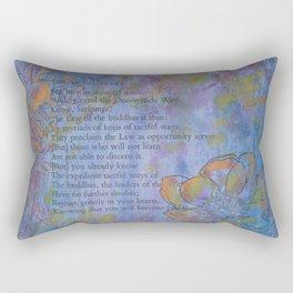 You Will Become Buddhas Rectangular Pillow