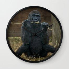 Gorilla Lope Wall Clock