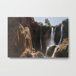 Ouzoud Waterfall Morocco Metal Print