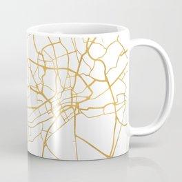 FRANKFURT GERMANY CITY STREET MAP ART Coffee Mug