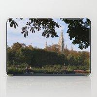 vienna iPad Cases featuring vienna volksgarten by Lisa Carpenter