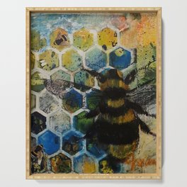 Bee Kind to One Another Serving Tray