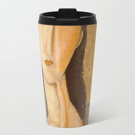 Amedeo Modigliani - Head Of A Woman Travel Mug