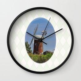 Horsey windpump Wall Clock