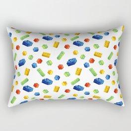 Building Blocks Pattern Rectangular Pillow