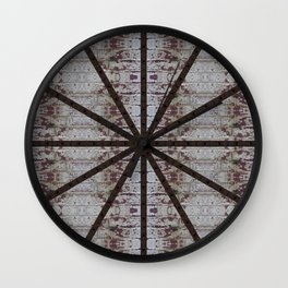 Rusty Downspout Wall Clock