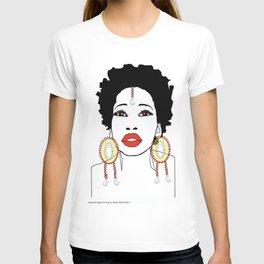 Maasai Earrings T-shirt