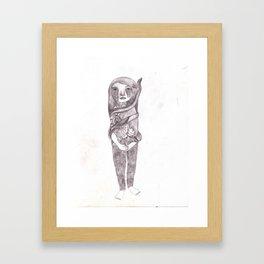 Coporeality  Framed Art Print