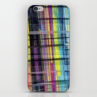 my mad fat diary iPhone & iPod Skins featuring Mad Plaid by Lynsey Ledray