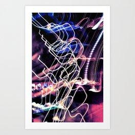 Shutter Speed  Art Print