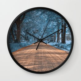 Wye Island Sapphire Road Wall Clock